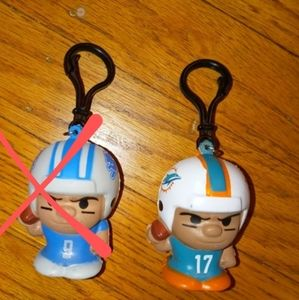 Squeezy Mates NFL quarterback keychain New